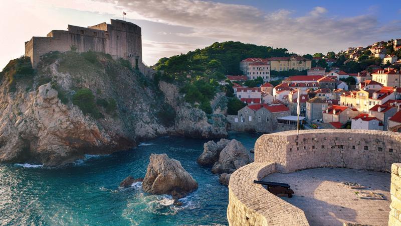 Kroatien med Dubrovnik och Montenegro