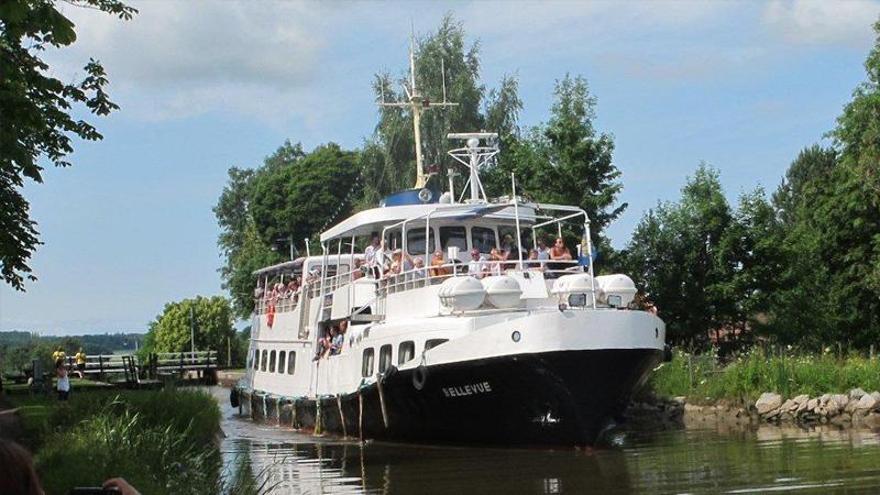 Dagstur på Göta Kanal