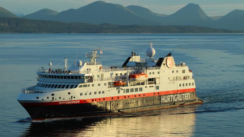 Hurtigrutenkryssning Tromsö - Trondheim