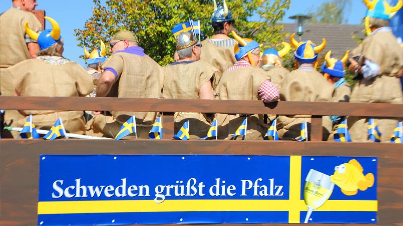 Vinskörd och Vinfest i Pfalz