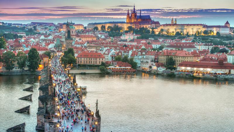 Prag - Budapest - Wien