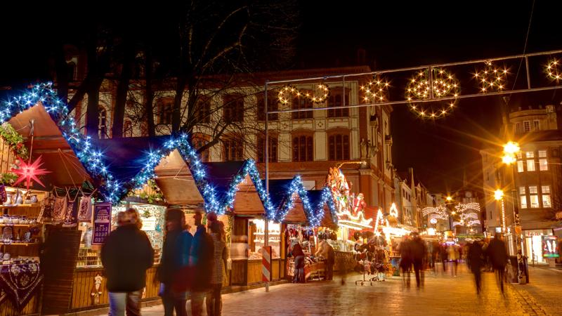 Julmarknad i Rostock