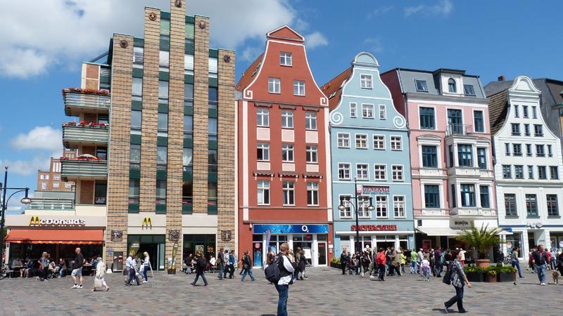 Shoppingweekend i Rostock