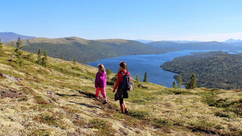 Norska Savalen fjellhotell med Röros