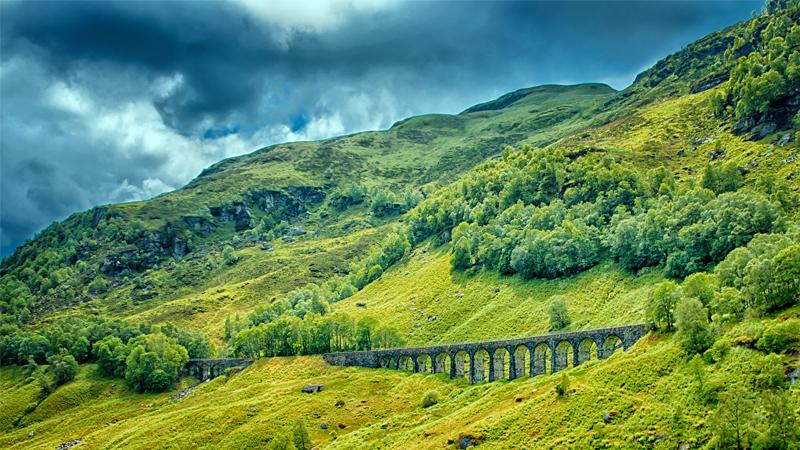 Skottland med buss
